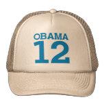 OBAMA 12 TRUCKER HATS