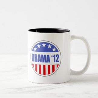Obama '12 Two-Tone coffee mug