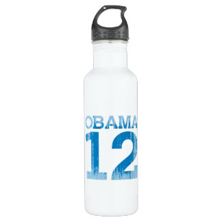 OBAMA 12 Vintage.png 24oz Water Bottle