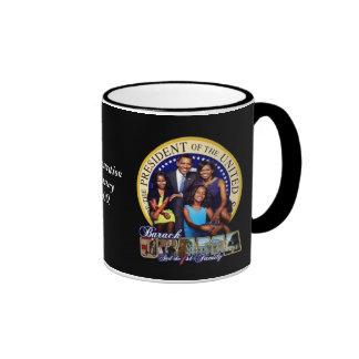 OBAMA-1ST FAMILY-Mug Ringer Mug