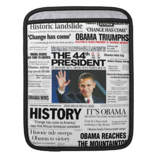 Obama 2008/2012 Headline iPad Sleeve
