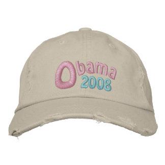 Obama 2008, Barack Obama, Pastel Memories Embroidered Hat