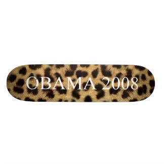 OBAMA 2008 CUSTOM SKATEBOARD