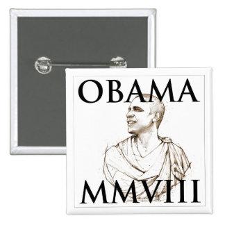 Obama 2008 pinback button