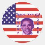 OBAMA 2008 Sticker