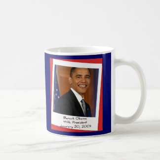 Obama 2009 Inaguration Souvenir Mug