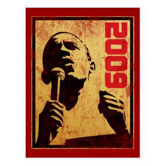 Obama 2009 postcard