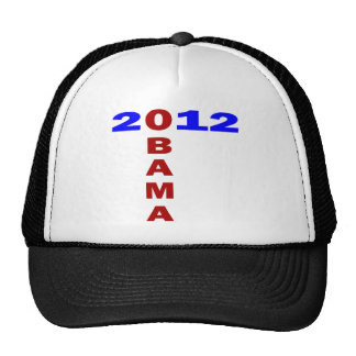 Obama 2010, T Formation, Blue And Red Trucker Hat