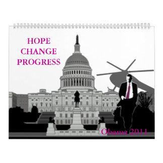 Obama 2011 calendar