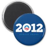 Obama 2012 2 inch round magnet