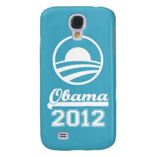 OBAMA 2012 3 (aguamarina) Funda Para Samsung Galaxy S4