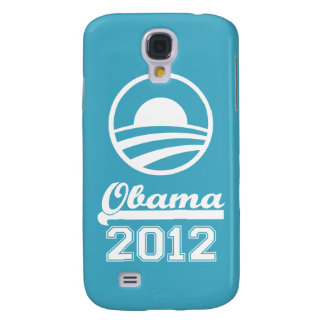 OBAMA 2012 3 (aqua) Samsung Galaxy S4 Case