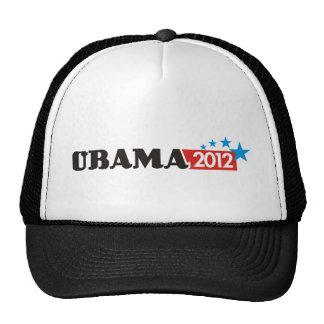 obama 2012 3 trucker hat