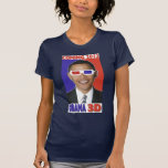 Obama 2012 3D T-shirt