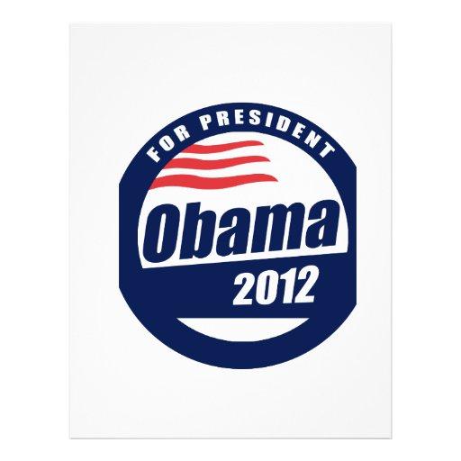 """Obama 2012 8.5"""" x 11"""" flyer"""