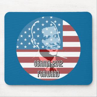 Obama 2012 adelante tapetes de ratones