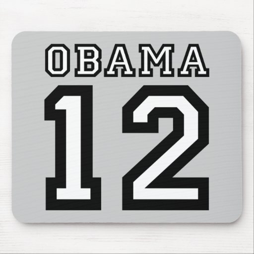 Obama 2012 alfombrilla de ratón
