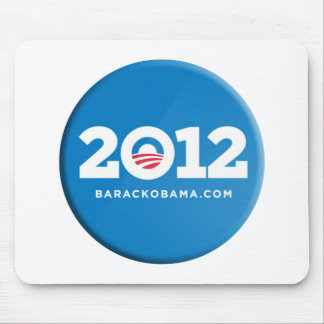 Obama 2012 alfombrillas de raton