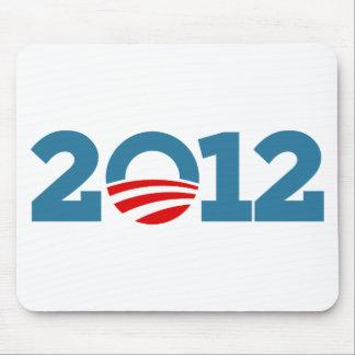 Obama 2012 alfombrillas de ratón