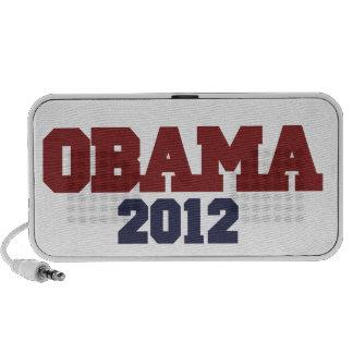 Obama 2012 laptop altavoces