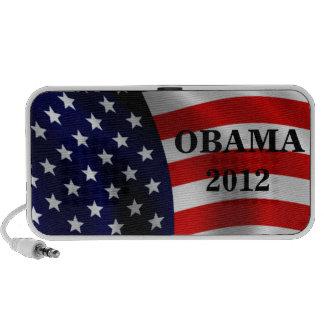 Obama 2012 altavoces