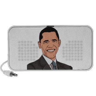 Obama 2012 notebook altavoz