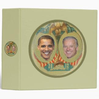 Obama 2012 Avery Binder