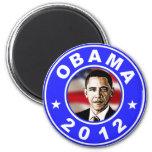 Obama 2012 - Azul Iman Para Frigorífico