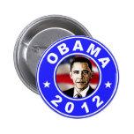 Obama 2012 - Azul Pin