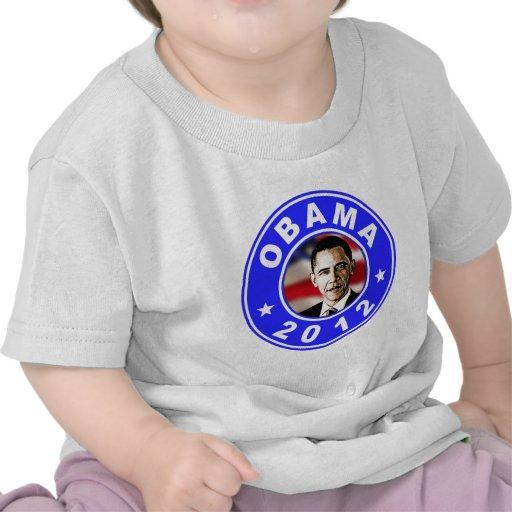 Obama 2012 - Azul Camisetas