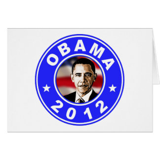 Obama 2012 - Azul Tarjeta
