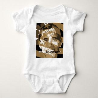 Obama 2012 baby bodysuit