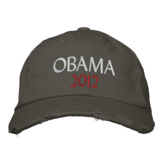 Obama 2012 baseball cap