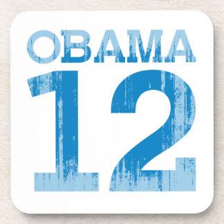OBAMA 2012 BEVERAGE COASTER
