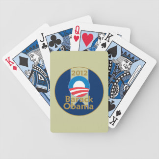 Obama 2012 bicycle playing cards