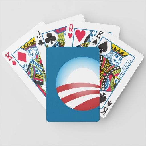Obama 2012 bicycle playing cards