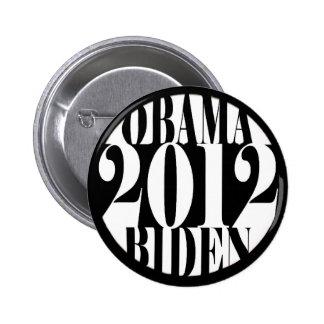 Obama 2012/Biden Pin