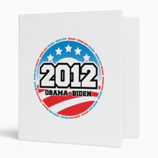 Obama 2012 binder