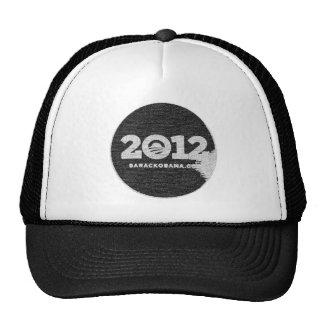 Obama 2012 Black and White Design Trucker Hat