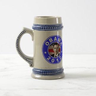 Obama 2012 - Blue Beer Stein