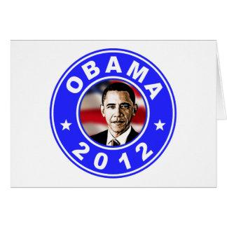 Obama 2012 - Blue Card