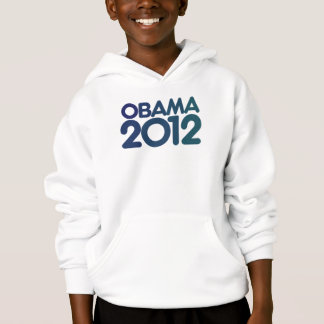 Obama 2012 blue design hoodie