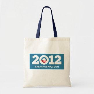 Obama 2012 bolsa tela barata