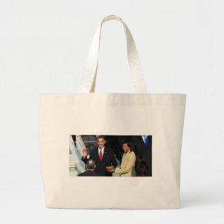 Obama 2012 bolsa tela grande