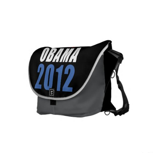 Obama 2012 bolsas de mensajería