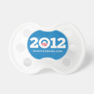 Obama 2012 BooginHead pacifier