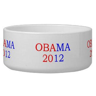 Obama 2012 bowl dog water bowls