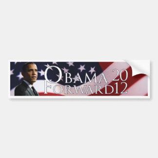 Obama 2012 car bumper sticker