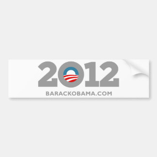 Obama 2012 bumper sticker