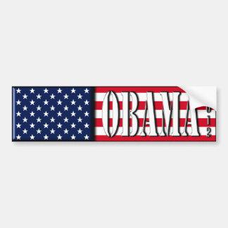 Obama 2012 - bumper sticker car bumper sticker
